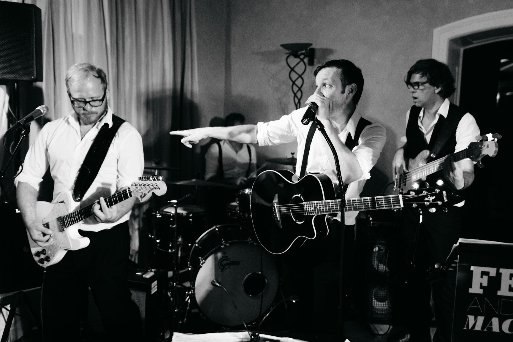 Felix and the Machines Quartett-Besetzung Hochzeit Foto by: Alexey Testov