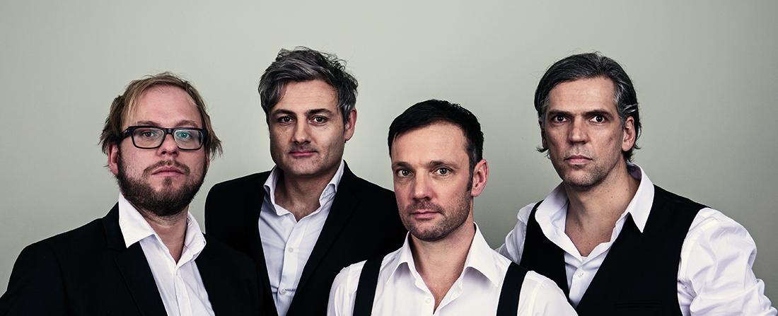 Felix and the Machines Quartett Foto: Sebastian Weidenbach